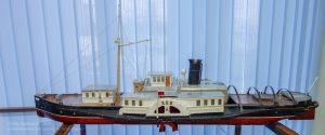 Колесный пароход Лев