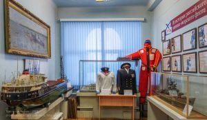 Залы музея речного флота