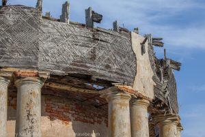 Верхняя часть разрушенной Воскресенской церкви. Подвязье