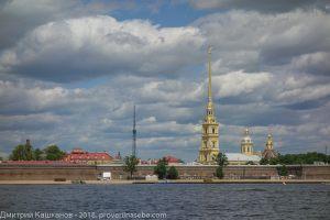 Петропавловская крепость. Достопримечательности Санкт-Петербурга с воды