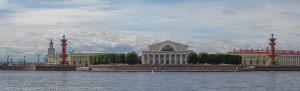 Стрелка Васильевского острова. Достопримечательности Санкт-Петербурга с воды