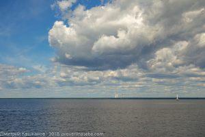 Фото Финского залива. Спокойная вода