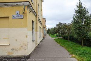 Кронштадт. Улица Красная. Старое здание