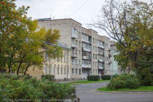 Кронштадт. Старые здания на улице Красной