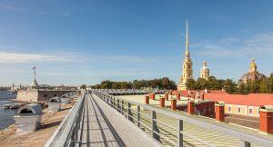 Петропавловская крепость. Невская панорама фото