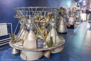 Жидкостный ракетный двигатель РД-0110. 1967 год. Музей космонавтики и ракетной техники. Санкт-Петербург