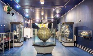 Глобус Луны. Музей космонавтики и ракетной техники. Санкт-Петербург