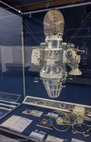 Межпланетная космическая станция Луна-9. Музей космонавтики и ракетной техники. Санкт-Петербург