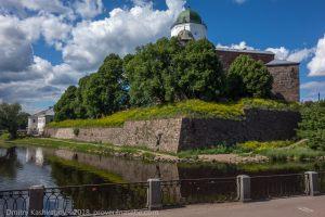 Вид на замковый остров