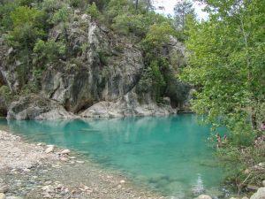 фотографии горных озер на пути к каньону Гейнюк. Турция. Кемер